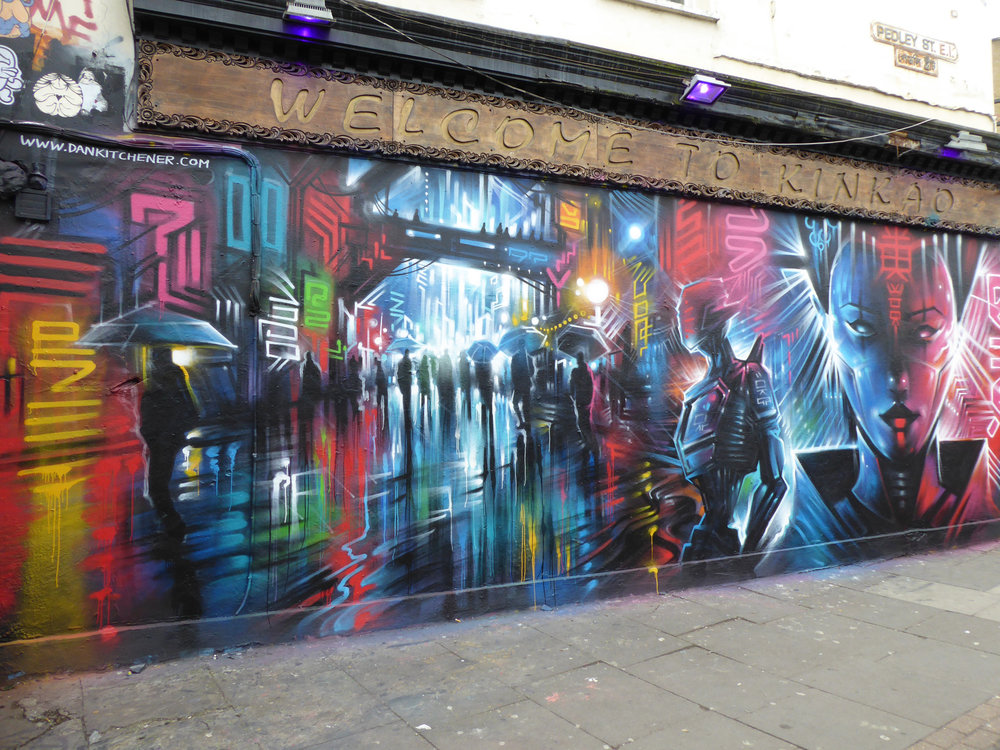 Dan Kitchener is known for his giant night scenes -