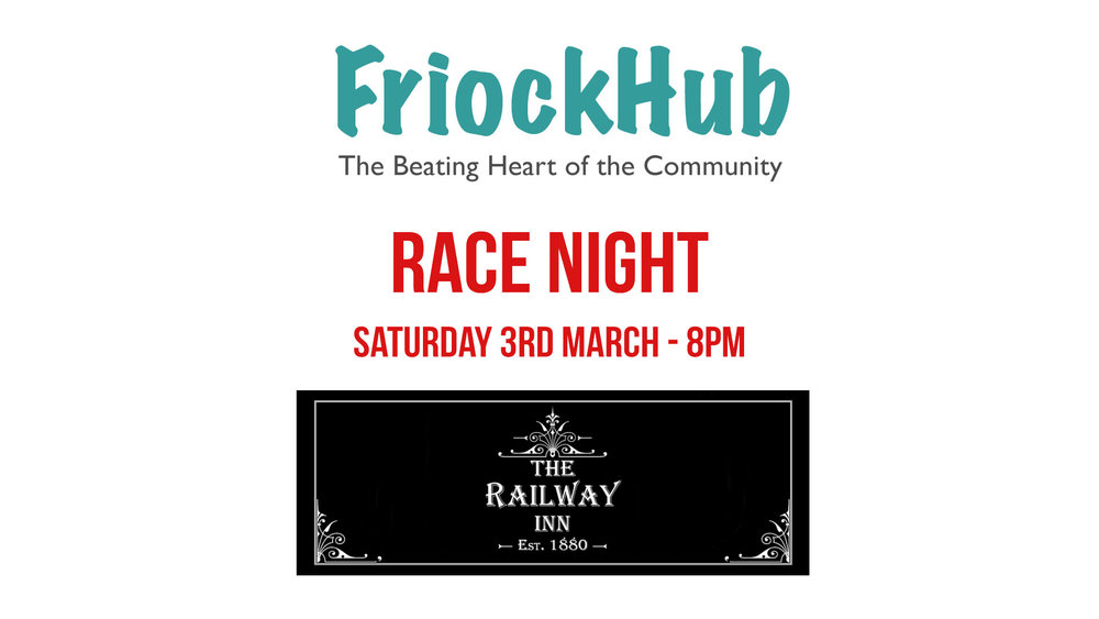 FriockHub Race Night