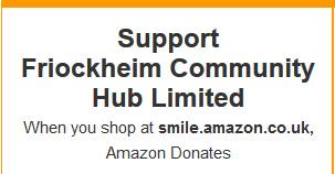 amazon smiles Friock Hub