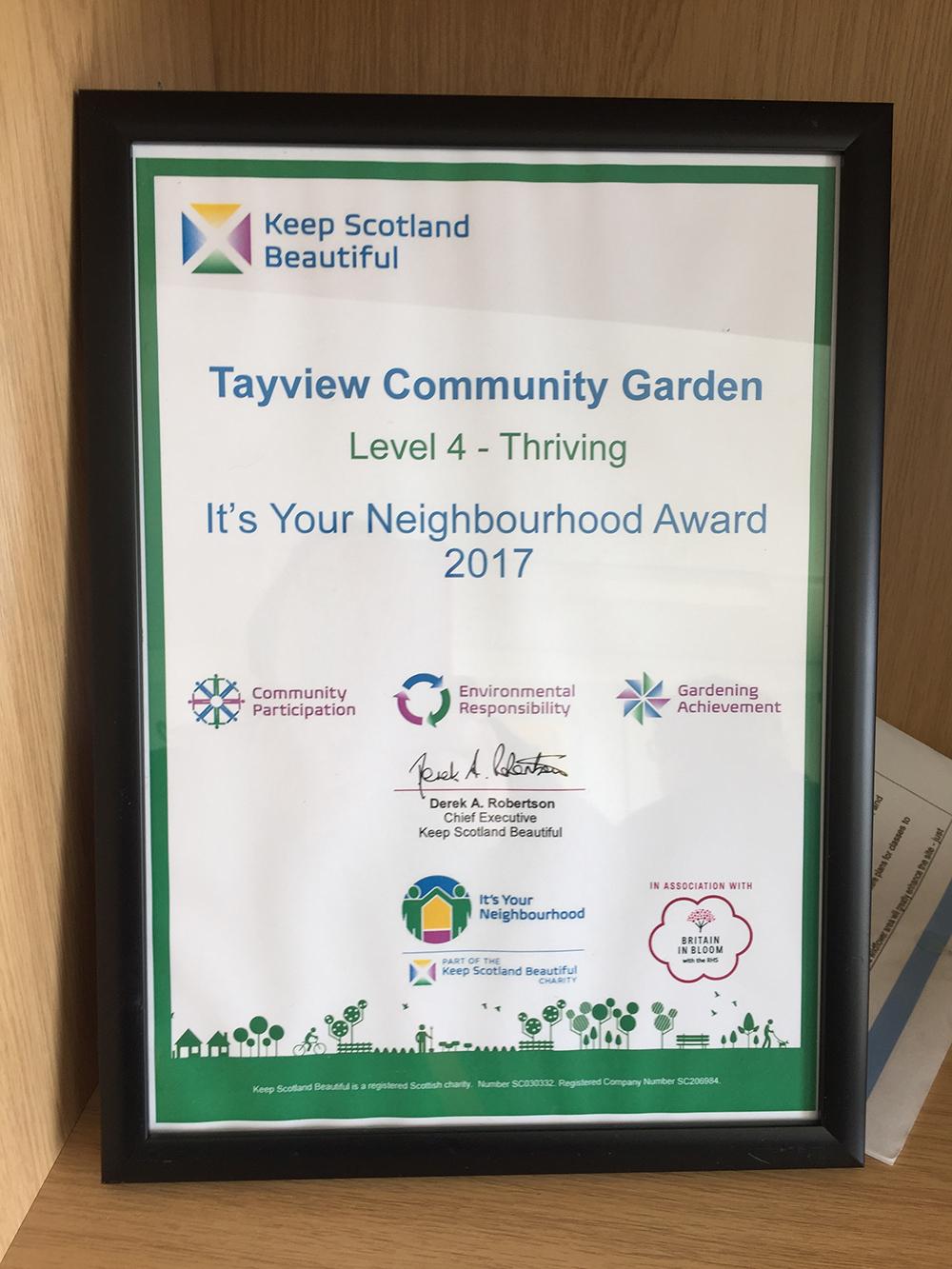 tayview community garden