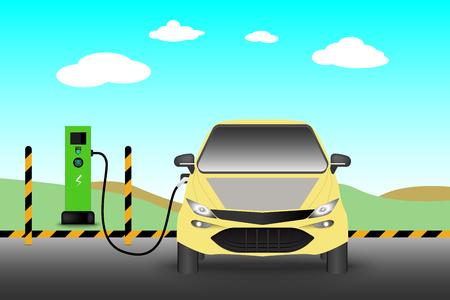 Friockheim Electric Car Charging points
