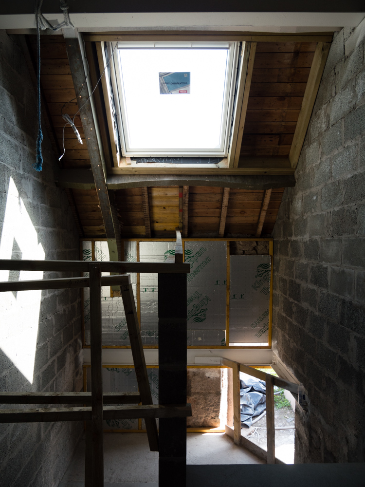 rooflight added above stairwell
