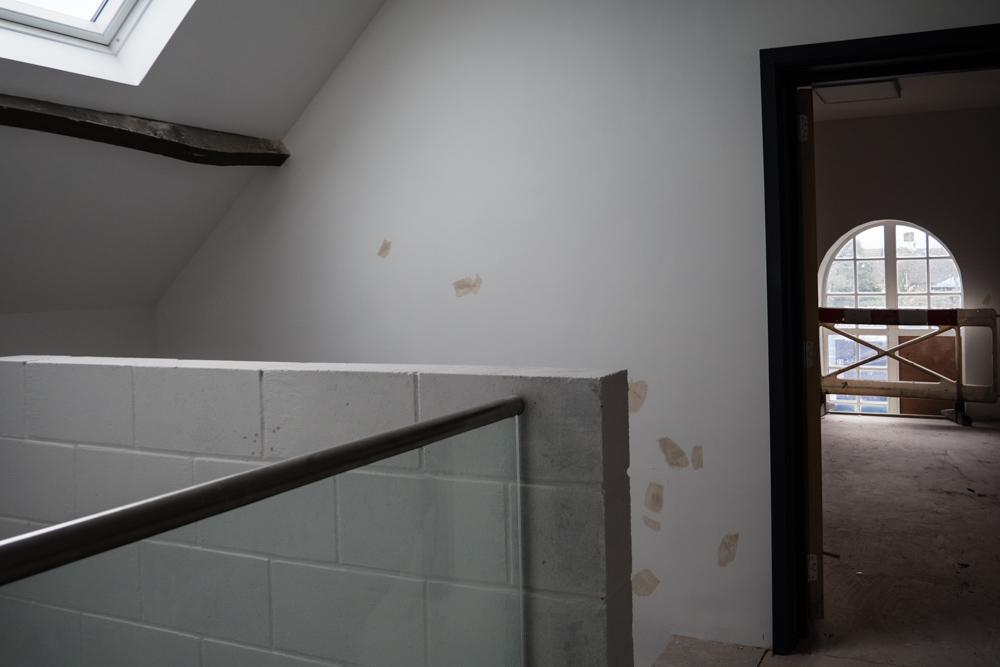 1st floor looking into business suite