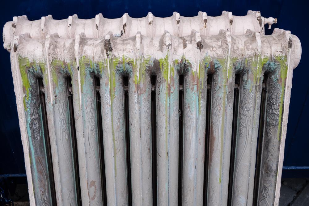 Detail on radiator