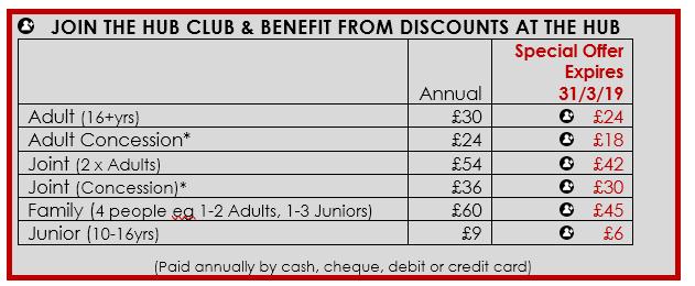 Hub Club Membership