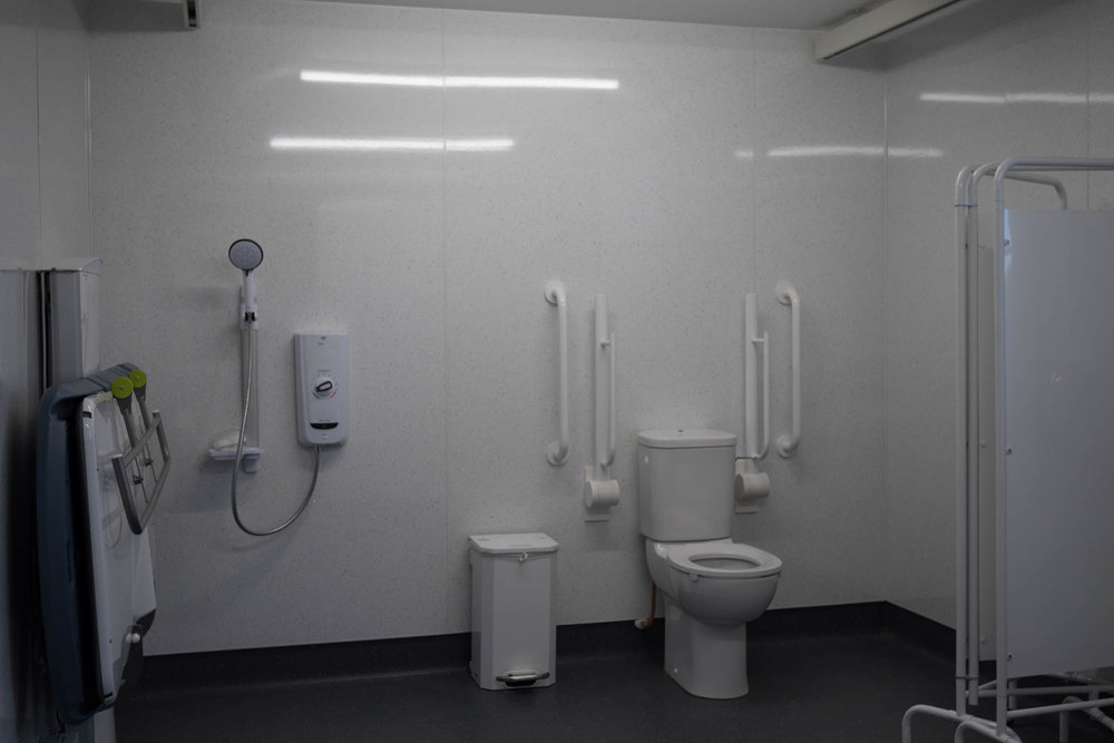 Changing Places Toilet at the Hub