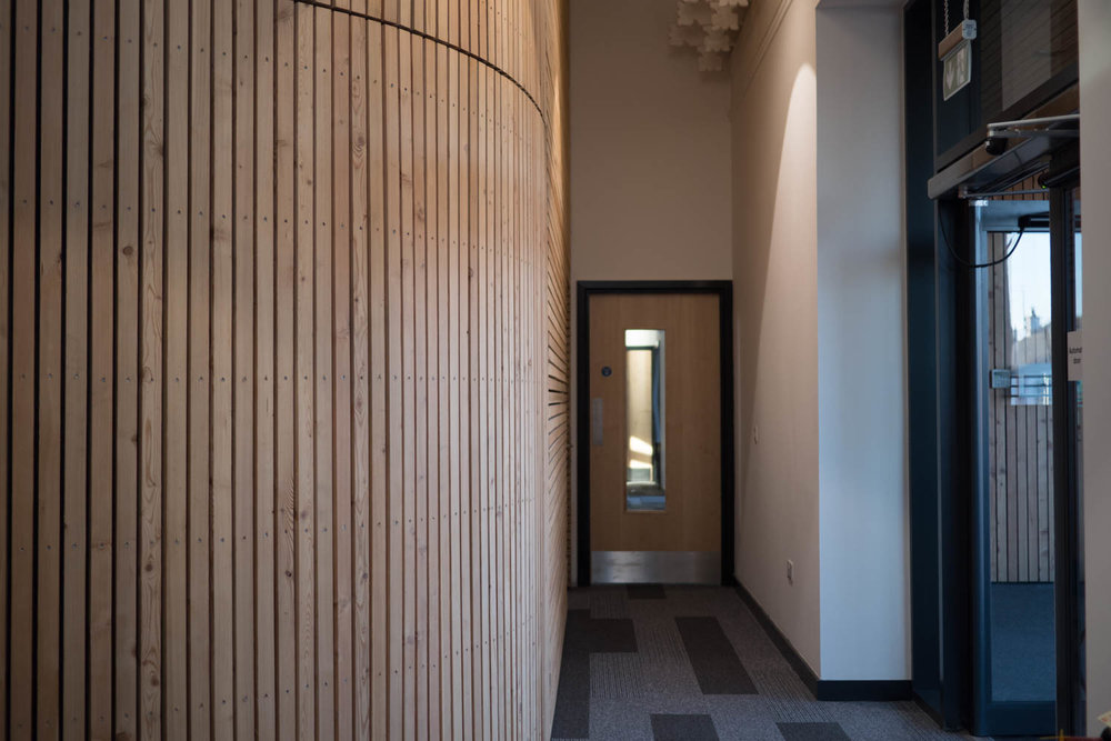 Corridor beside front door