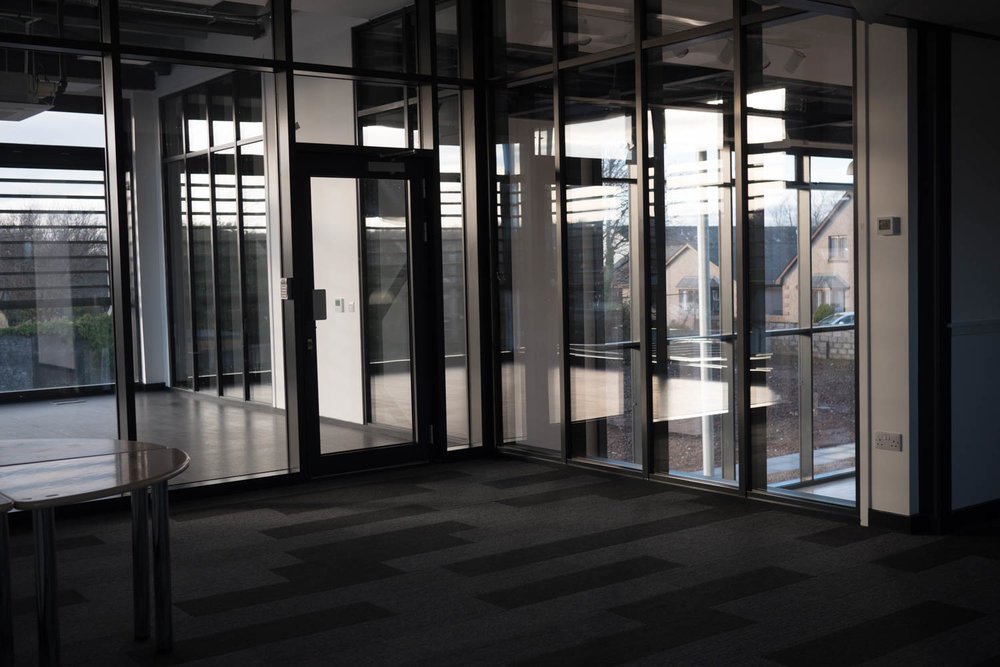 Looking onto Fitness Suite