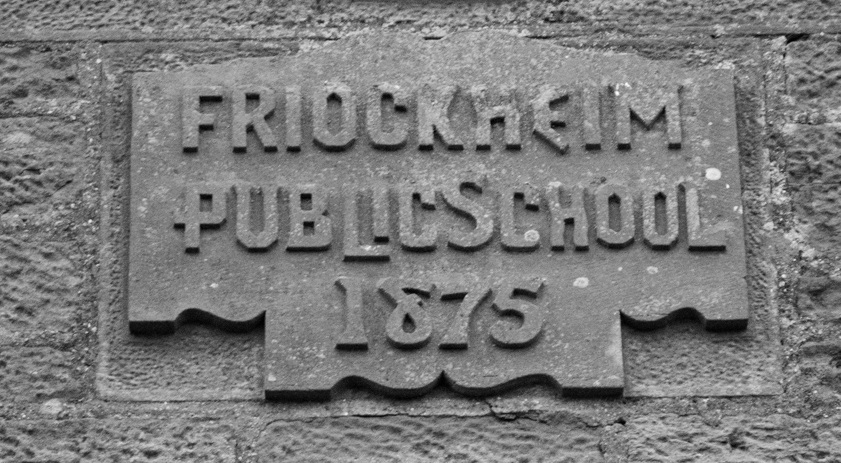 Friockheim Public School 1872