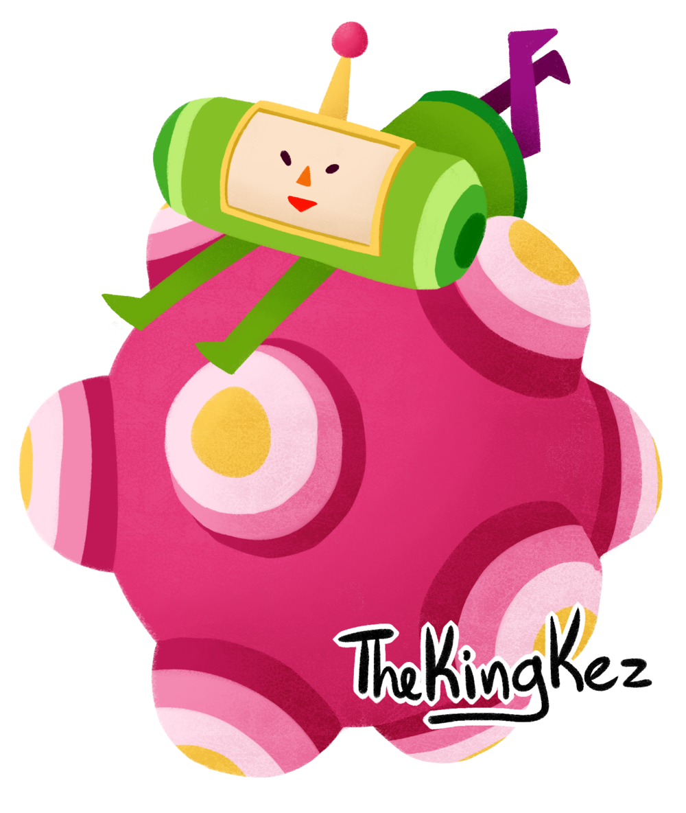 katamari roll sticker.png