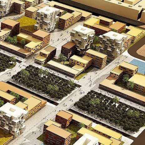 tam - City center