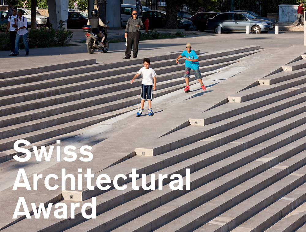awrd - Sept. 2018 // Three projects from the office are shortlisted as part of this year's BSI Swiss Architectural Award