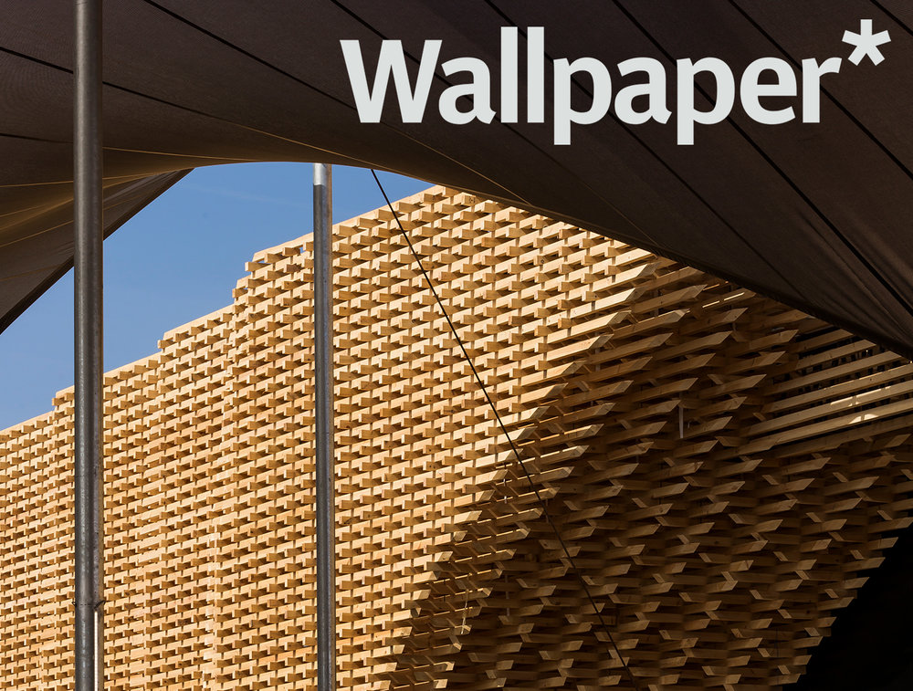 "mags - Sept. 2018 // The COP 22 project is featured in Wallpapers' selection of ""modern buildings in arid environments"""