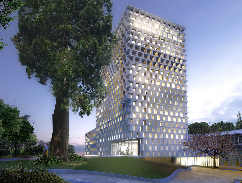 COMP - DEC. 2018   The office competes with Emenda and ABAK to design the new IT department building for the University of Nantes