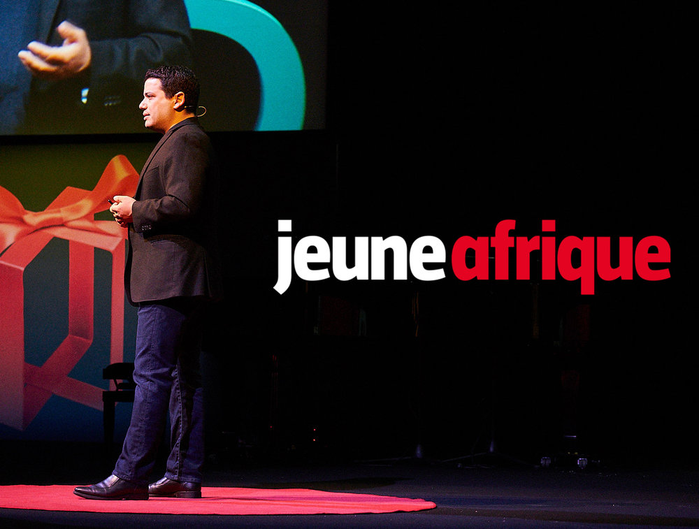 """mags - JAN. 2019   We are honored to have been named a """"future builder"""" on the African continent by the publication JEUNE AFRIQUE — click to read the full article featuring Tarik"""