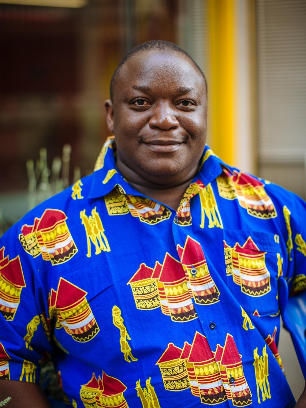 Fred Alucheli - Living in: Nairobi, KenyaNationality: Kenyan