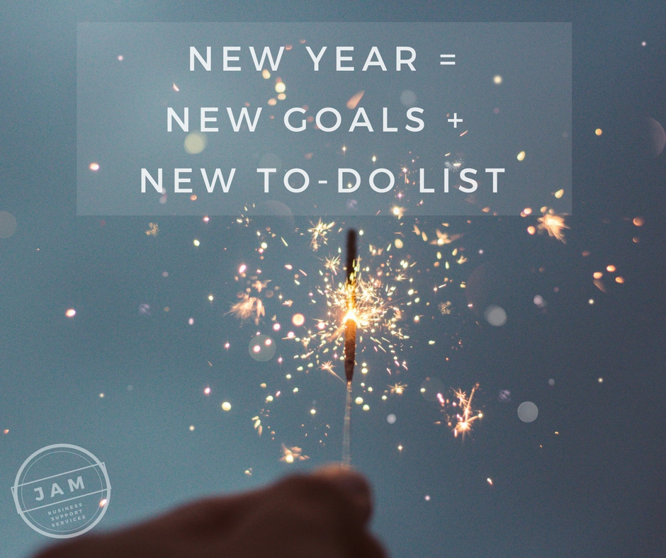 New Year = New Goals + New To-Do list