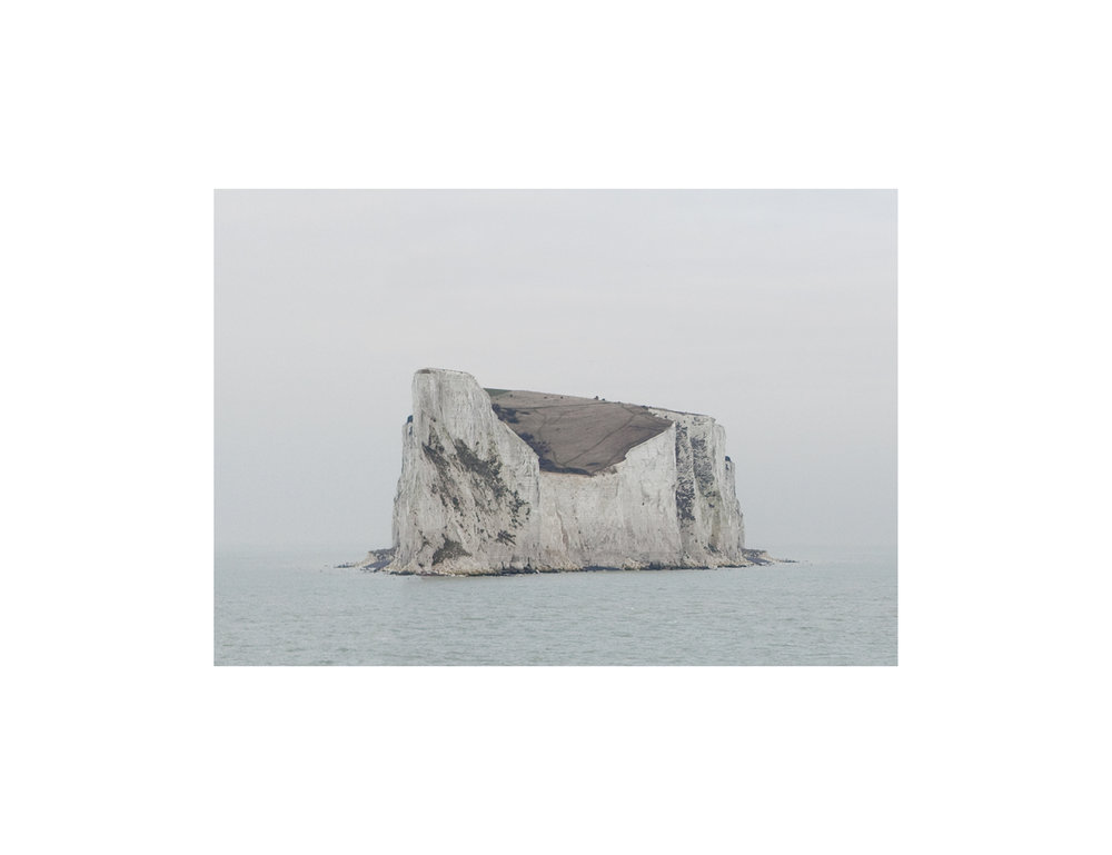 Untitled (Isle of Dover) 2011,  15 x 25 cm inkjet on archival matte paper mounted on dibond, framed