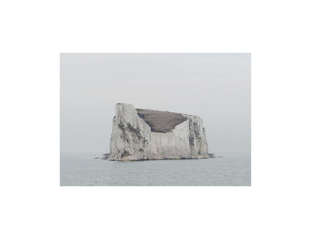 Untitled (Isle of Dover) 2011, 15 x 25 cm inkjet on archival matte paper mounted on dibond, framed