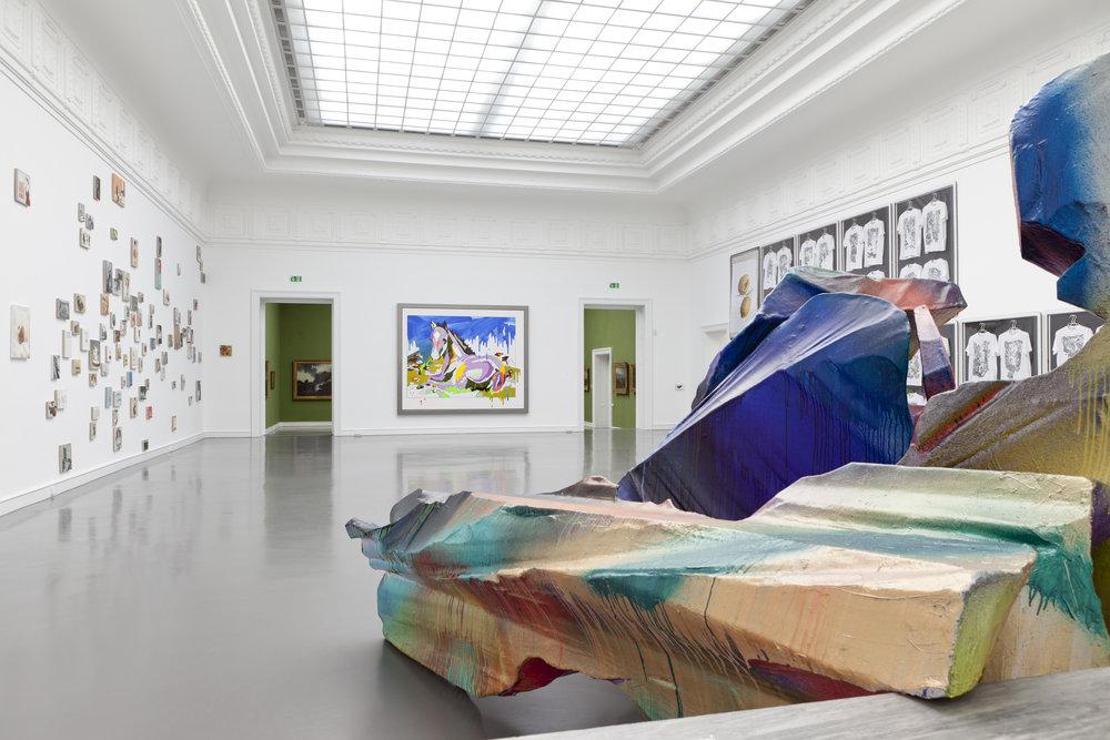 Katharina Grosse at Kunsthalle Baden Baden