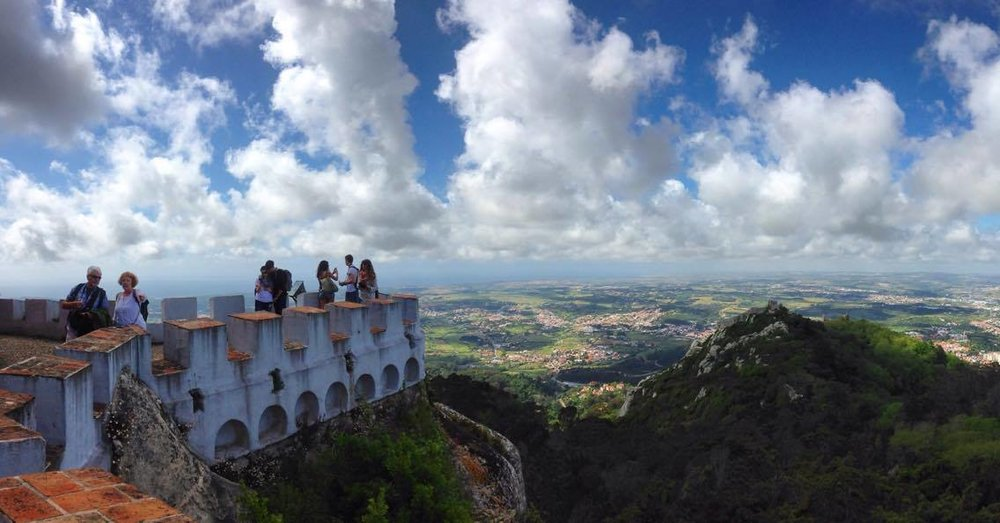 The top of the palace - Sintra