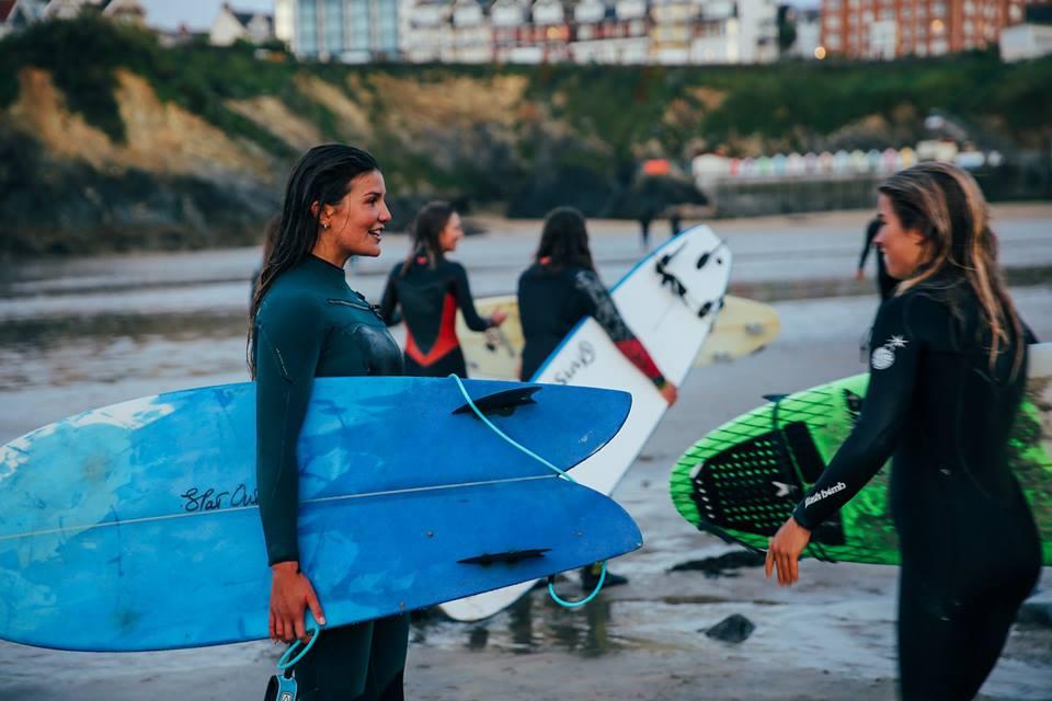 Photo: Women + Waves Surf Coaching Weekends