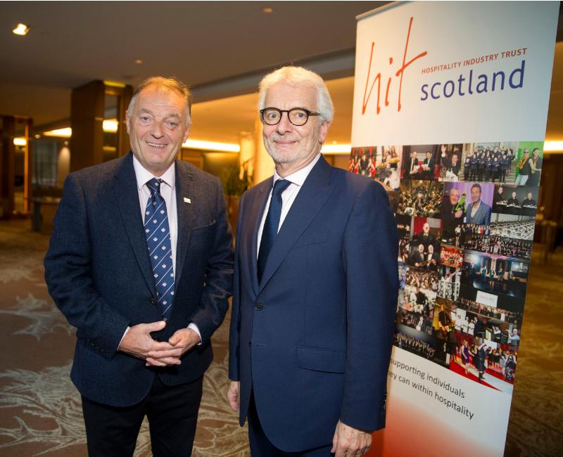 Fergus Chambers and Peter Lederer (Edinburgh Lunch 2018)