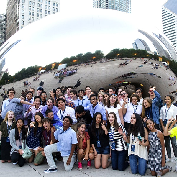 Chicago - Millenium Park, the Chicago River, the Polsky Innovation Exchange, Navy Pier, and startup hub 1871 are all past destinations.  We'll be sure to eat some deep dish and give you a chance to take a selfie in front of the 'Bean'.  Chicago is quickly becoming a hub for entrepreneurship that can hold it's own against the coasts.