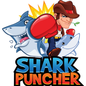 Micah's first foray was into app design, his first app, Shark Puncher, did just that, you tapped the screen to punch sharks.  it wasn't a big hit.