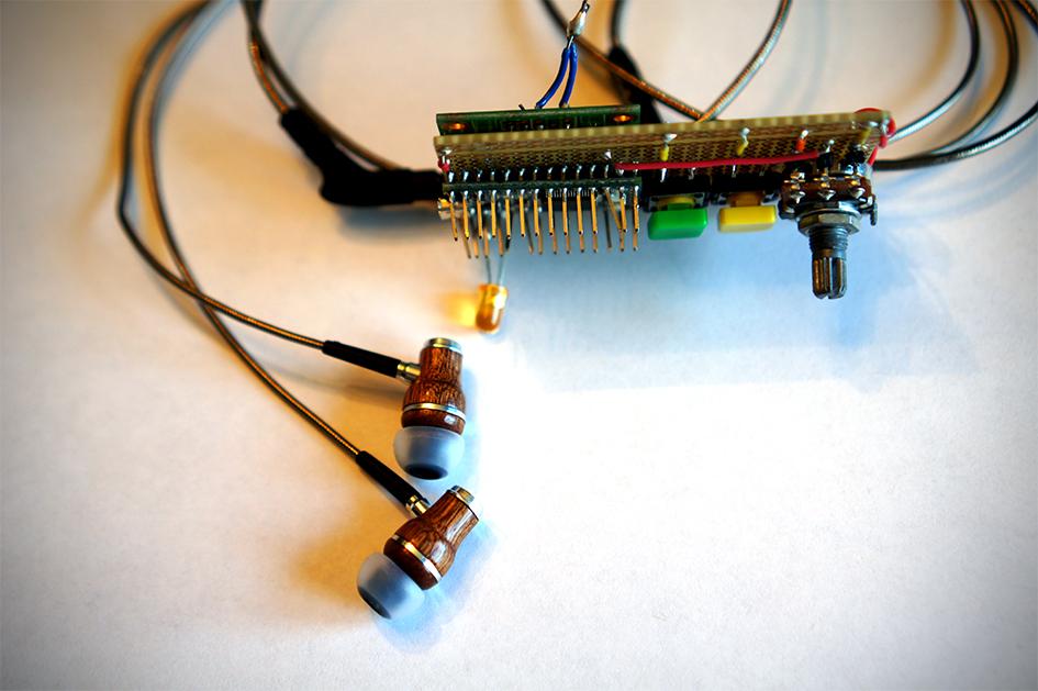 Mukund's hearing device