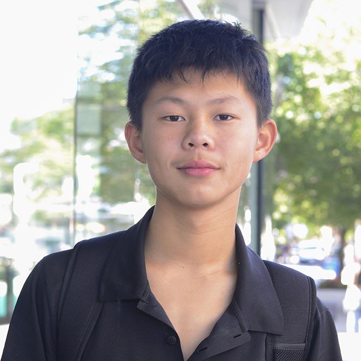 George Lu, 14