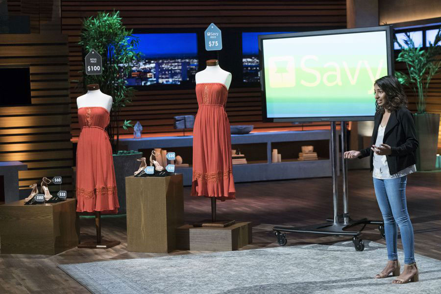 Disha on Shark Tank, what a terrific young entrepreneur