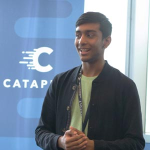 """""""QØ was a transformational experience that taught me a lot about starting a business."""" - ~ Satvik Garg, Student(YPO Emirates)"""