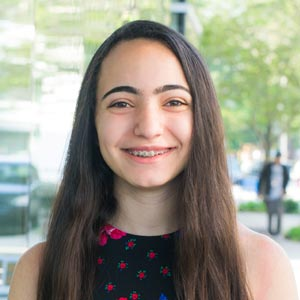 """""""My mom asked me what I thought of the QØ Program and the first words that came to mind were 'I LOVED IT!'"""" - ~ Francesca George, Student(YPO Mountain State Gold)"""