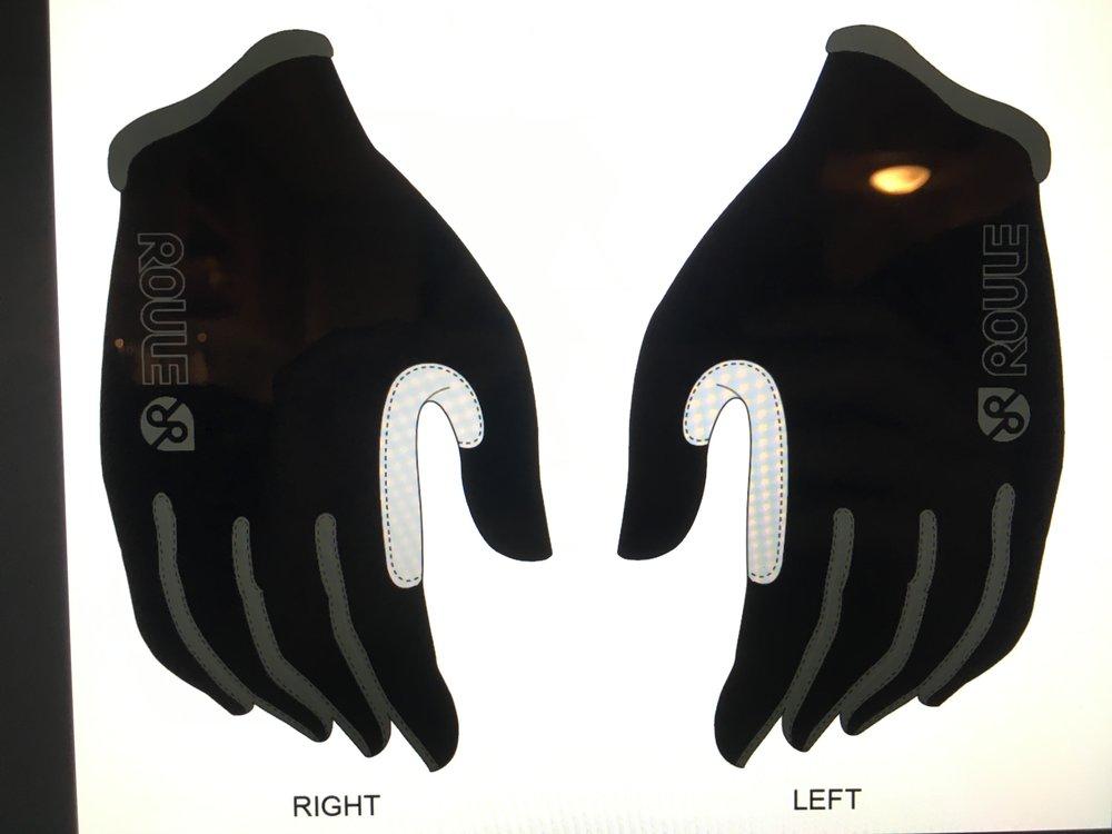 Glove, Full: Black ($25-$30)