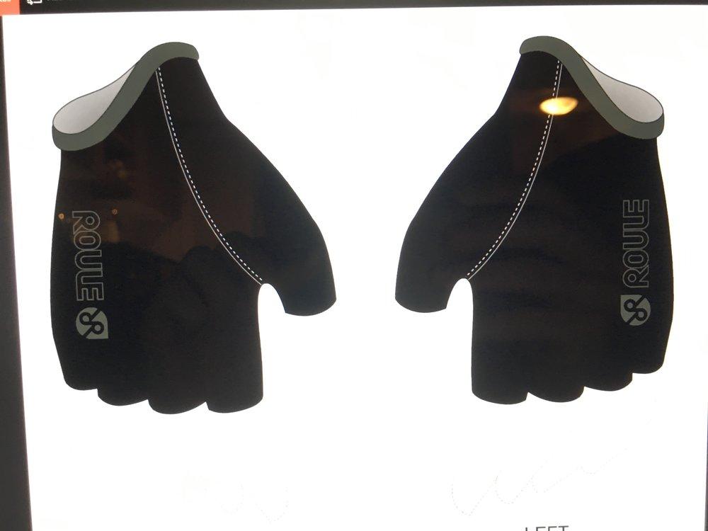 Glove, short: Black ($20-$25)
