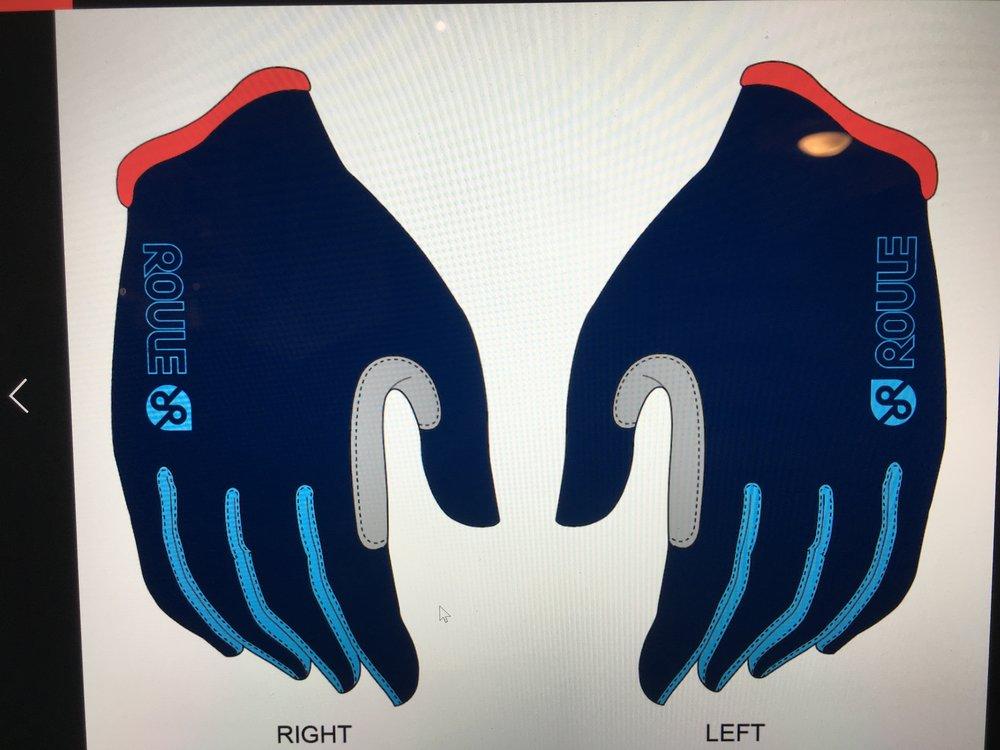 Glove, Full: Navy ($25-$30)