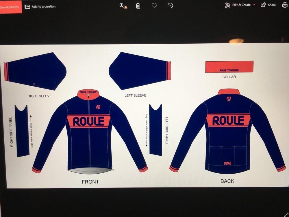 Jacket: Navy ($75-$90)