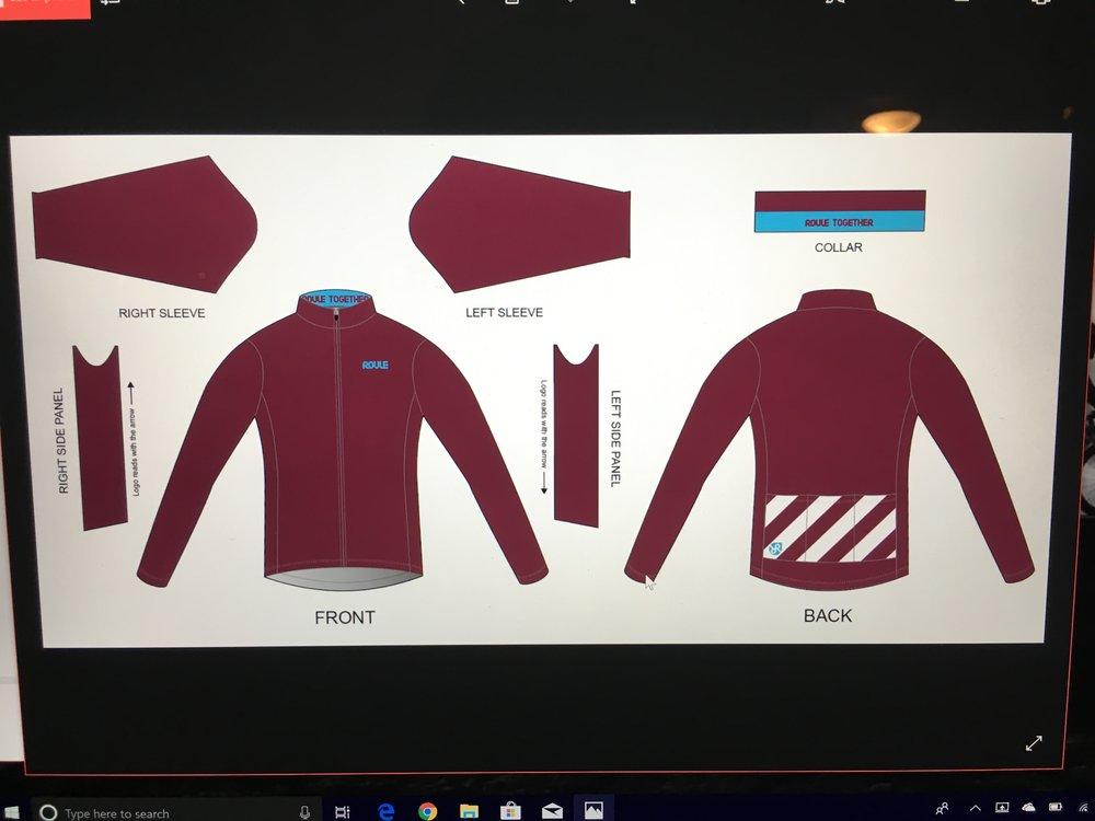 Jacket: Burgundy ($75-$90)
