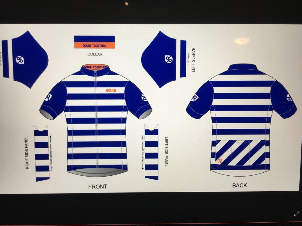 Jersey: Blue Stripe ($70-$85)