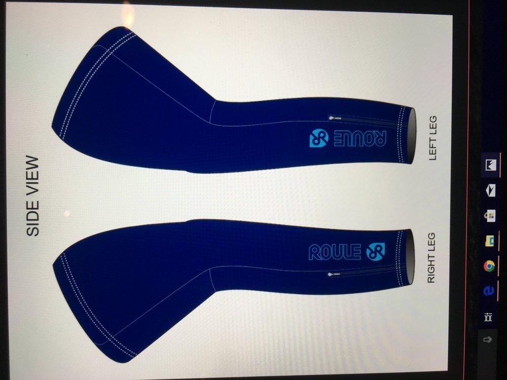 Thermal Leg Warmer: Navy ($20-$25)