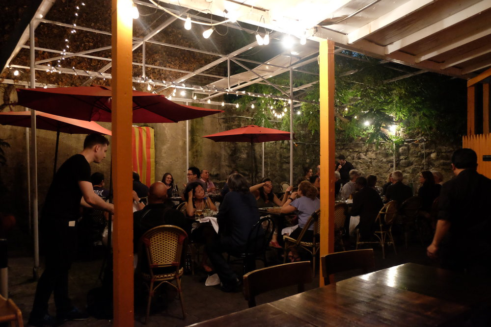 Private Events  - We have a heated enclosed patio available  to host  private parties, corporate events, and any other festivities desired.  Indoor & Outdoor Spaces (seated 50, standing 90)