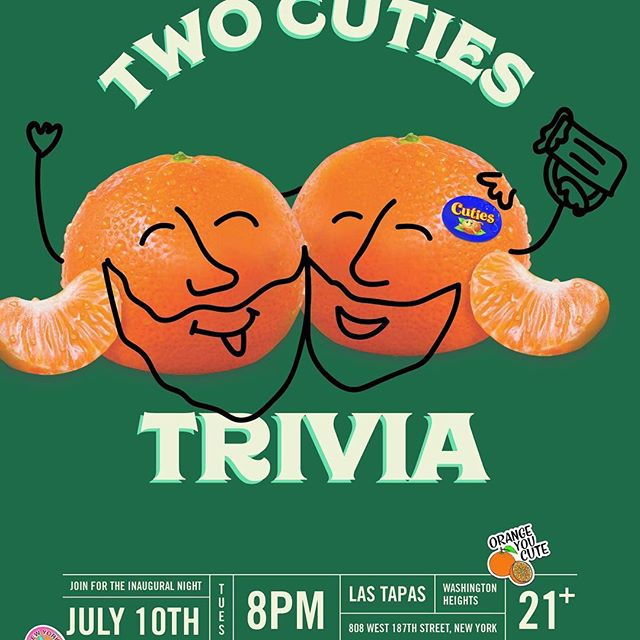 Join us for our first Trivia night. Inauguration. Bring family and grinds and have fun. Win prices. #trivia #nights #nyc #fun #tapas #tapasbar #washingtonheights #hudsonheights #nyc #wahi