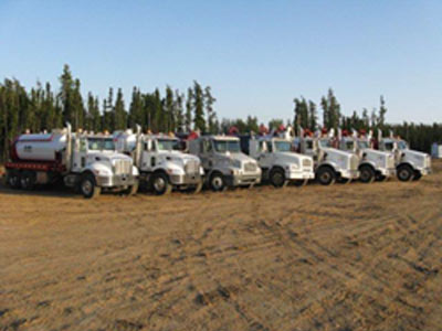 RobWel Vacuum Truck Fleet