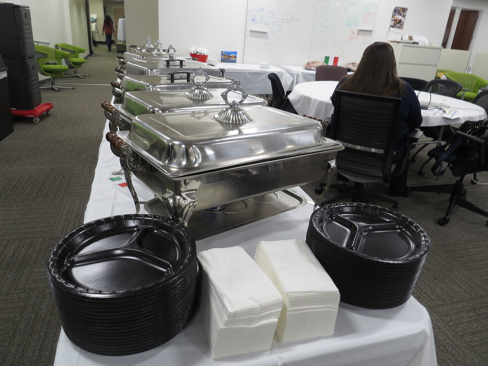 CORPORATE CATERING - rab lunch for the whole team with our seasonal drop-off style catering menu