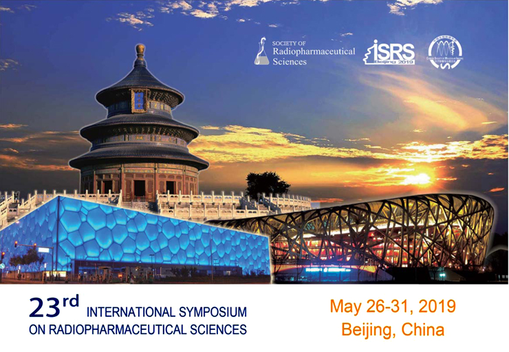 ISRS 2019 - This biennial symposium series has been in existence since 1976 and brings together hundreds of radiopharmaceutical scientists from dozens of nations. We look forward to meeting in Beijing in 2019. Learn more...