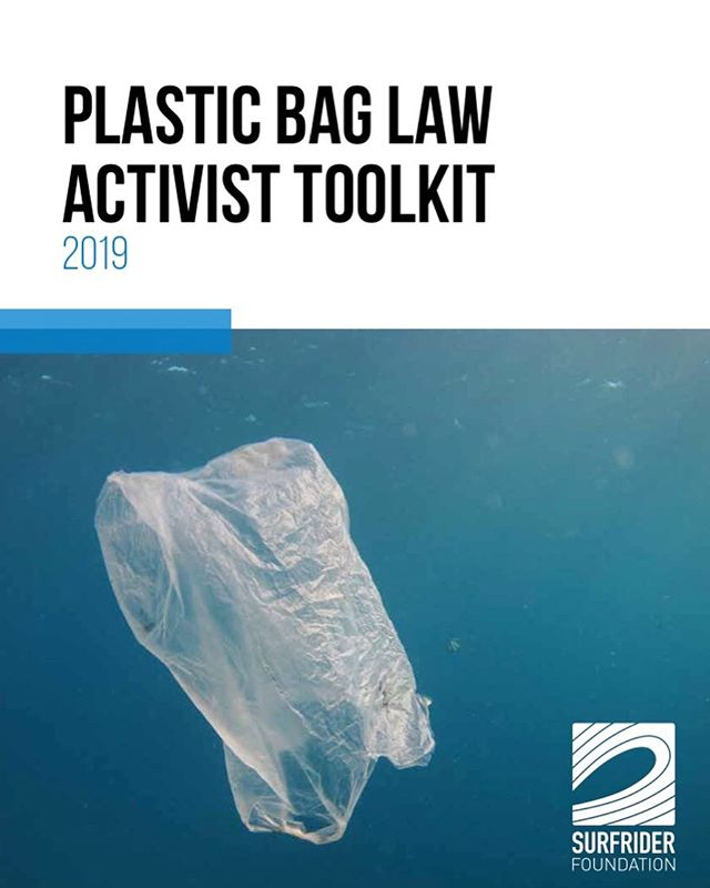 So happy to share this Plastic Bag Law Activist Toolkit that we put together with @surfrider 🌊 Link in bio. #plasticbags #environment #sustainability #plasticbaglaws #plasticpollution #riseaboveplastics