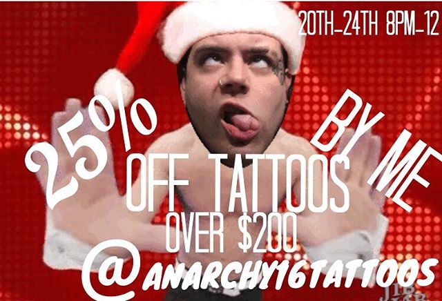 Merry Christmas you filthy animals @anarchy16tattoo dm me if interested #nj #njtattooartist #njtattoo #njnewschooltattoos #newschooltattoo #newschool #neotraditional #neotraditionaltattoo #customart #customtattoo  #tattoons #tattoonsnj #tattoo #tattoos #tattooedgirls #tattooedguys #morbidlycute #cutetattoos