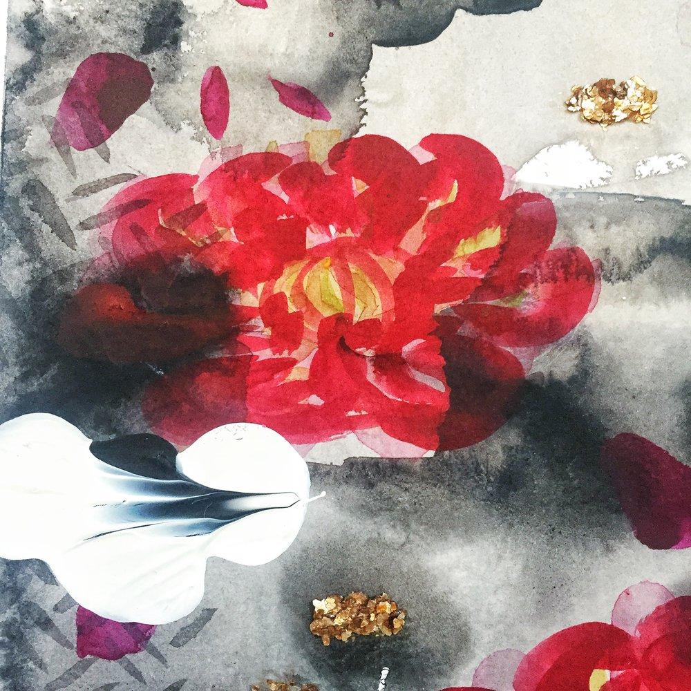 Custom painting commission by Katrina Slade