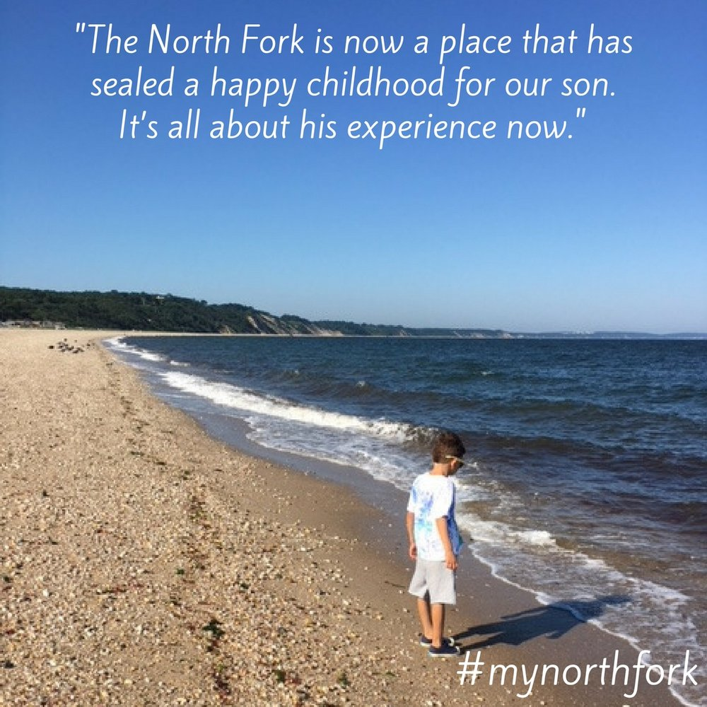 "#mynorthfork 12/29/2017 - ""The North Fork was initially a weekend getaway for my husband and I, a place to drop our bags, take off our shoes and walk on the beaches, meet up with friends, sip local wine and relax. Once we determined to make it our permanent residence, it's now a place we know has sealed a happy childhood for our son - choc-full of memories we build on each year — exploring farm stands, swimming at a variety of local beaches, eating out at the many incredible restaurants, having a blast at summer & fall festivals, meeting friends and family for some quality catch-up time at the wineries, backyard barbecues, ice skating, school functions. It's all about his experience now. We see it as an ideal place to raise a family while still providing that same enjoyment we felt many years ago. We're blessed to live where we once only dreamed of living."" (Marissa, Main Road Biscuit Company)"